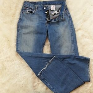 LUCKY BRAND Button Fly Easy Rider Bootcut Jeans 8